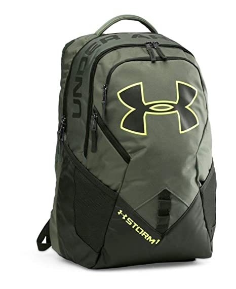ec8cb49242db Under Armour Unisex UA Big Logo IV Backpack Downtown Green Artillery  Green X-