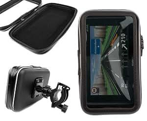 DURAGADGET Montaje Giratorio Para Bici De Montaña Y Funda Para GPS Tomtom GO Live 1005- Resistente Al Agua