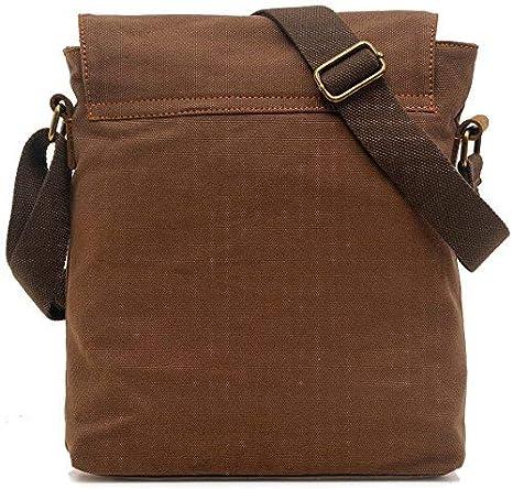 1fb2e77f7107 Amazon.com: Kiddiezoom Unisex Vintage Canvas Shoulder Bag Messenger ...