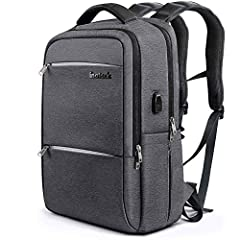 Spacious Room There are two zipped compartments, one to take a laptop, iPad, A4 sized magazines, and other accessories; one to take several clothes, book, sunglasses, and other personal items. Two zipped small pockets can be found on the fron...