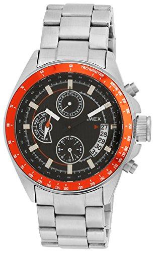Timex E Class Analog Black Dial Men #39;s Watch   TI000U20100