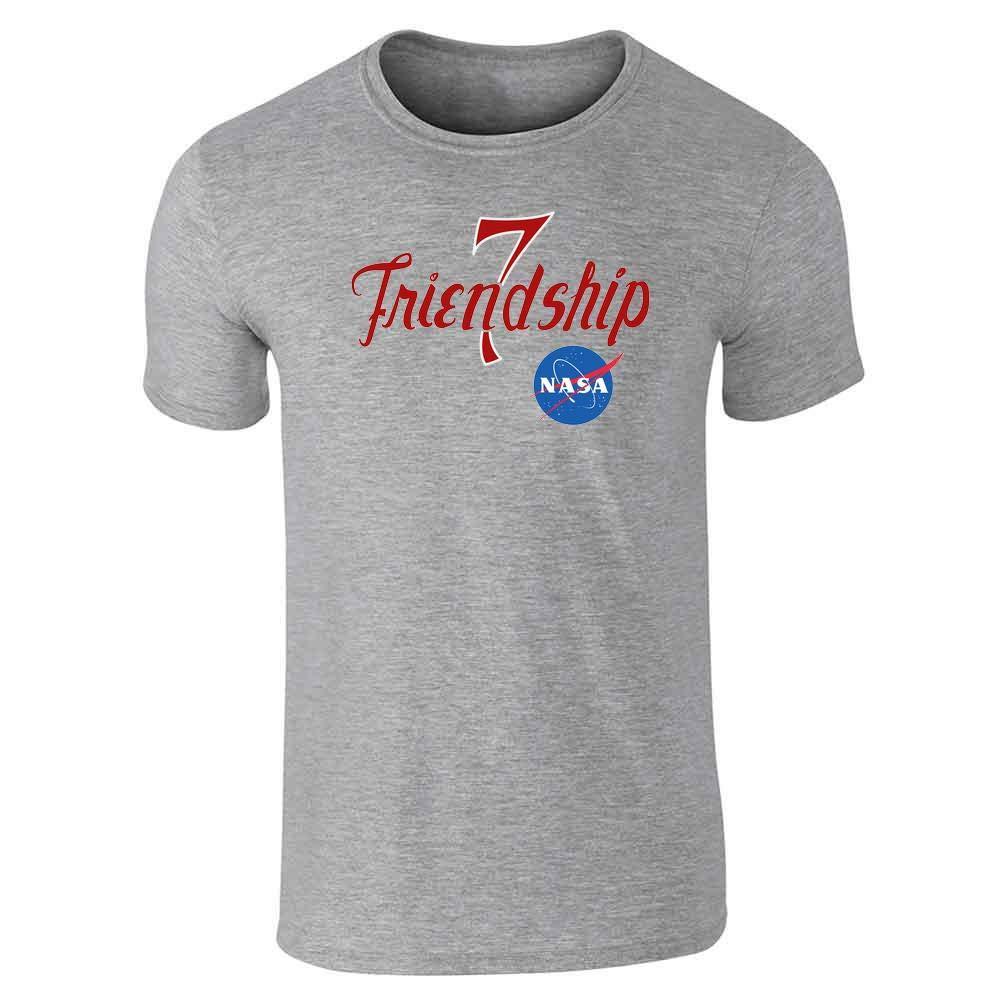 NASA Approved Friendship 7 Graphic Retro Vintage Short Sleeve T-Shirt