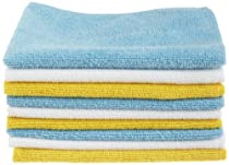 AmazonBasics Microfiber Cleaning Cloth - 24-Pack