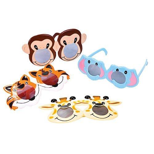 Zoo Animal Glasses Dozen