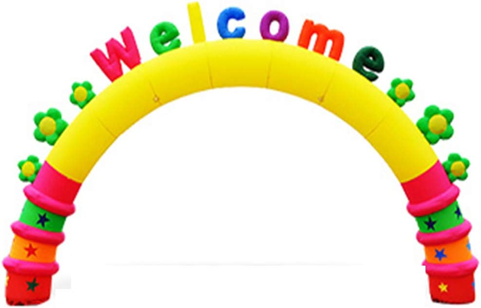 JIAWANSHUN Opening Inflatable Arch 210D PU Inflata Coated OFFicial shop 40% OFF Cheap Sale Oxford