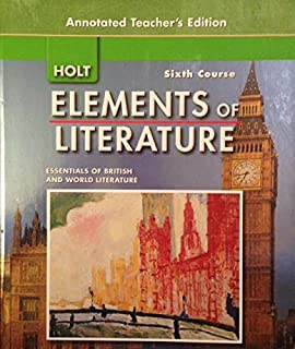 Elements of literature fifth course literature of the united states holt elements literature 6th course essentials british world literature annotated teachers edition fandeluxe Image collections