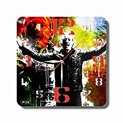 FBA Linkin Park,Chester Bennington 11'' Return Stroke Original Handmade Wall Clock - Get Unique décor for Home or Office - Best Gift Ideas for Kids, Friends, Parents and Your Soul Mates