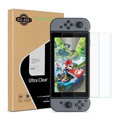 ICHECKEY Nintendo Switch Screen Protector 2-Pac...