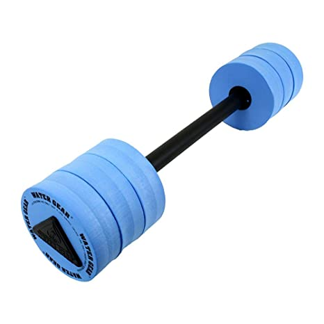 5a2f65cc484 Amazon.com : Water Gear Bar Float, Padded : Pool Barbell : Sports & Outdoors