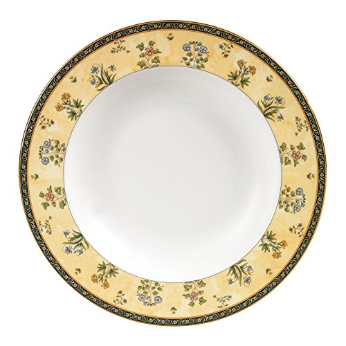 Wedgwood India 8-Inch Rim Soup Bowl (Flowers Soup Bowl Rim)