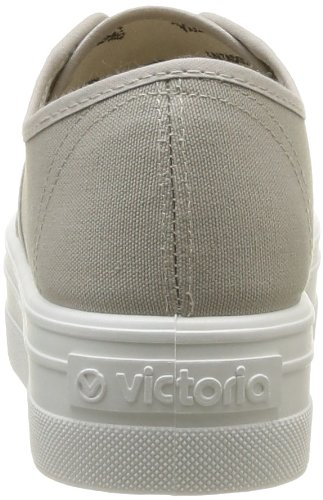Plataf Adulto Beige Unisex Basket Lona Sneaker Victoria qU1Z4B