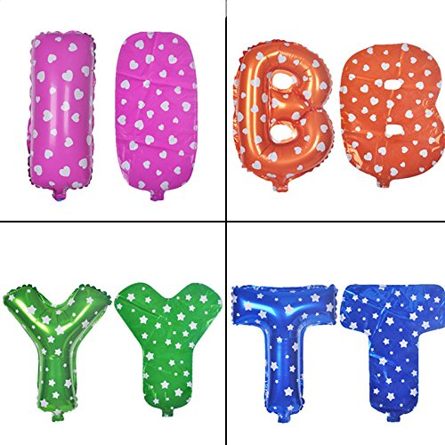BIRTHDAY HAPPY package 13 English letter aluminum film balloon package birthday party decoration supplies send Inflator