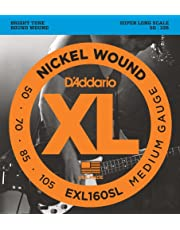 D'Addario Nickel Wound Bass Guitar Strings
