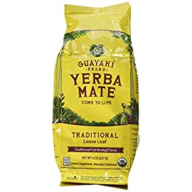"Guayaki Trdtnl Yrbamte Loose Org 4 Save On Guayaki 3X 8 Oz Yerba Mate LooseOur Signature Traditional Mate Is Deep And Rich, Supported By A Well Balanced And Complex Earthy ""Mate"" Body, And A"