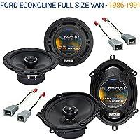 Ford Econoline Full Size Van 1986-1991 OEM Speaker Upgrade Harmony Speakers New