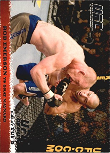 2009 Topps UFC Round 1 #68 Rob Emerson Gray Maynard - NM-MT