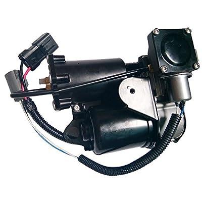 MILLION PARTS Air Suspension Compressor Pump Suspension fit for Land Rover 2006 2007 2008 2009 2010 2011 2012 2013 2014 Range Rover Sport & 2005-2009 LR3 & 2010-2014 LR4: Automotive