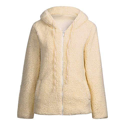 Maniche Lunghe Unique Invernale Cappotto Lungo Stlie Elegante Cappuccio Con 88 Da E Cerniera Bobo Khaki Donna I7vbfgYm6y