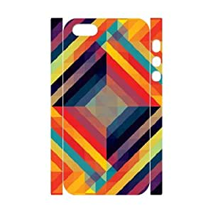 3D IPhone 5,5S Cases Kaleidoscopic 7, Iphone 5s Cases for Teen Girls Cheap - [White] Cathyathome