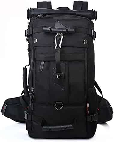 KAKA Backpack Travel Camping Climbing Hiking Mountain Daypack 40L Black #2070