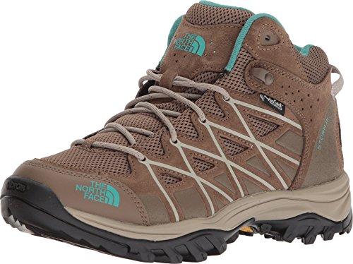 The North Face Storm III Mid Waterproof Hiking Shoe - Women's Cub Brown/Crockery Beige 10.5 - Gtx Snake Boots