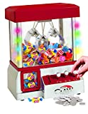 Alek...Shop Carnival Claw Game Electronic Home Arcade 24 Toys Grabber Crane Machine Features and Exciting, Red