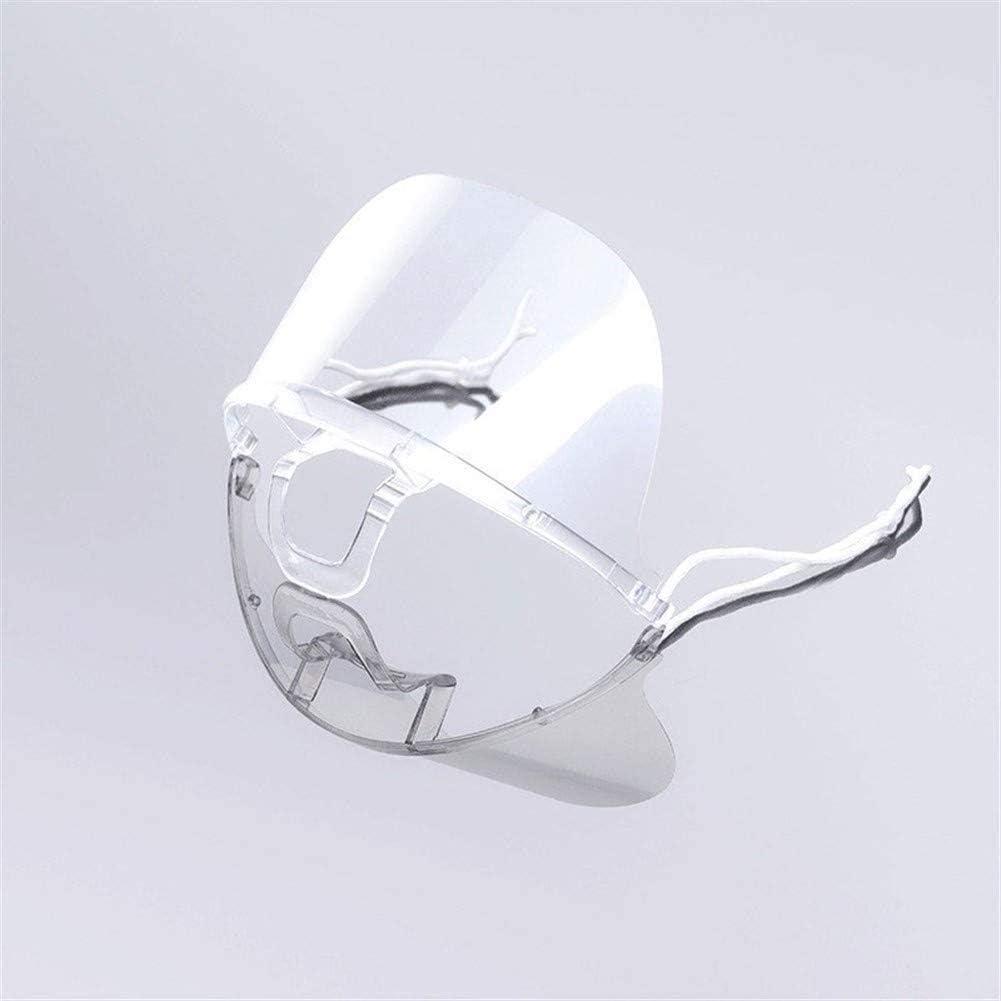 Protector Facial antivaho Surfilter, protección contra la Saliva, 10 Piezas, plástico, Transparente, 10 Piezas