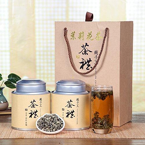 China Tea Authentic tea ceremony, Fuzhou Jasmine dragon ball, jasmine tea box, mid autumn tea, 500g by CHIY-GBC ltd