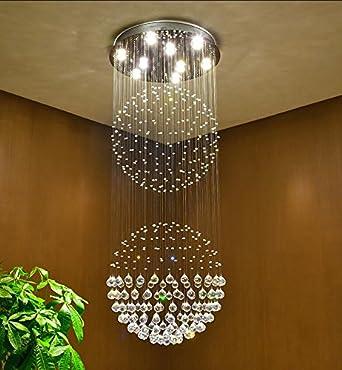 Siljoy sphere raindrop crystal chandelier lighting modern ceiling siljoy sphere raindrop crystal chandelier lighting modern ceiling lights w70 x h180 cm aloadofball Gallery
