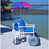 Aqua Creek Beach Access Wheel Chair : 4 Large Tires