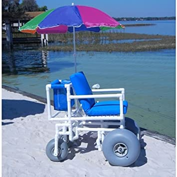 Amazon.com: Aqua – Creek – Acceso silla de ruedas de playa ...