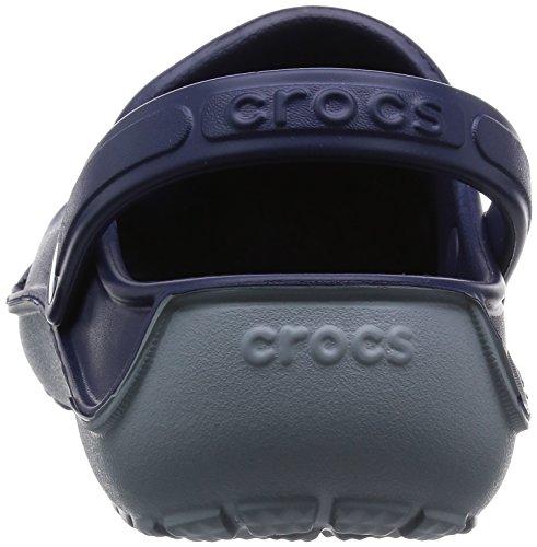 Crocs Unisex Duet Bølge Tette Stabeis Nautisk Marine / Betong