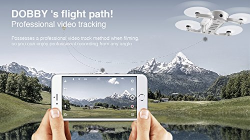 ZEROTECH DOBBY Mini Selfie Pocket Drone with 13MP High Definition Camera U.S. Version with Official Warranty