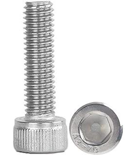 uirend Socket Head Screws M5 M6 M8 Hardware Hex Socket Set Cup Point Cone Set Screws 304 Stainless Steel Screw