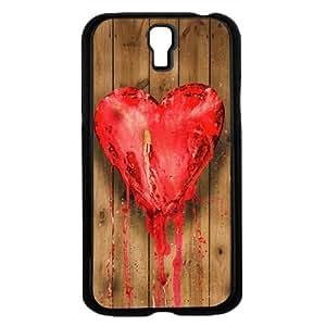 Heart on Wood Hard Snap on Case (Galaxy S4 IV)