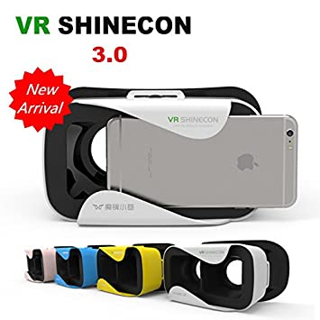 380c7e6e11e VR Shinecon New 3.0 - Virtual Reality 3D Glasses VR Box  Amazon.in   Electronics
