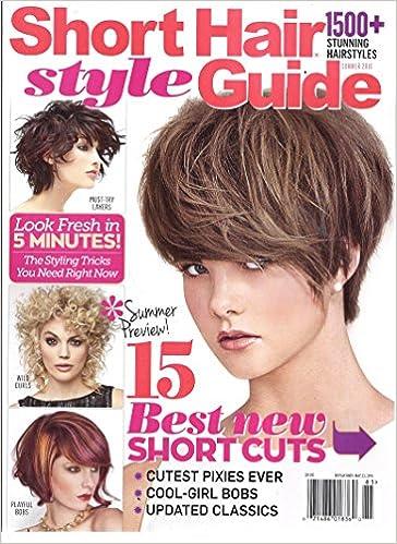 Short Hair Style Guide Magazine Summer 2016 Short Hair Presents