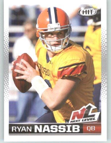 2013 Sage Hit Football Card #98 Ryan Nassib NL / Syracuse - New York Giants (Next Level - Rookie Insert) NFL Trading - Ny America Syracuse Store