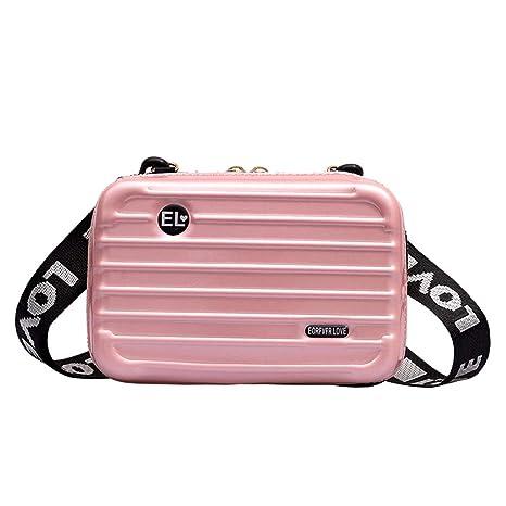beste Angebote für toller Wert Bestbewerteter Rabatt Lophome Damen-Tasche, praktische Handtasche, Koffer, Handgelenk,  Umhängetasche, Aufbewahrungsbox, Kosmetikkoffer Rose