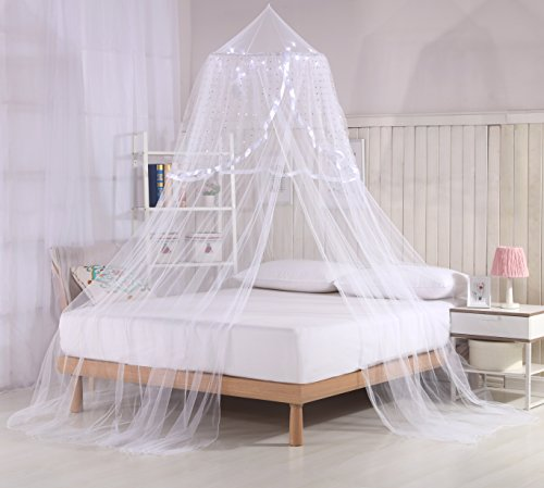 Princess Bed Canopy Lights white product image