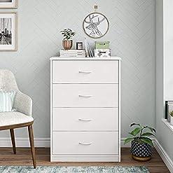 Bedroom Mainstay 4-Drawer Dresser, (4-Drawer, Canyon Walnut, Handi Wipes) (@.1 Pack (White), 4-Drawer) modern dressers