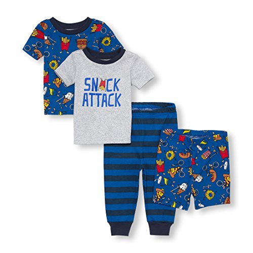 The Childrens Place Baby Boys Top and Bottom Pajama Sets