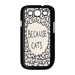 A Lot of Cats Design Unique Customized Hard Case Cover for Samsung Galaxy S3 I9300, A Lot of Cats Galaxy S3 I9300 Cover Case