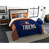 The Northwest Company MLB Detroit Tigers King Comforter and Shams Set