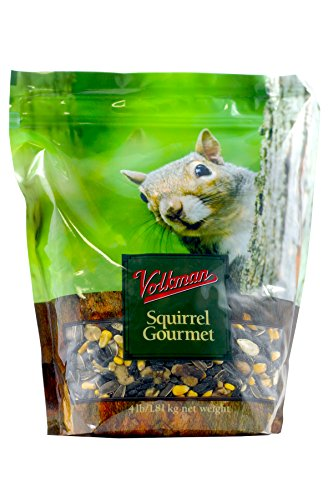 Volkman Seed Small Animal Squirrel Gourmet Mix Healthy Formulated Diet Food 4lbs