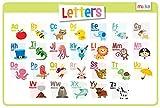 merka Letters Educational Kids Placemats - Non Slip Washable Alphabet Abc