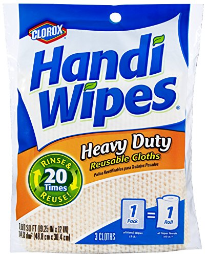 Clorox Handi Wipes Heavy Duty Reusable
