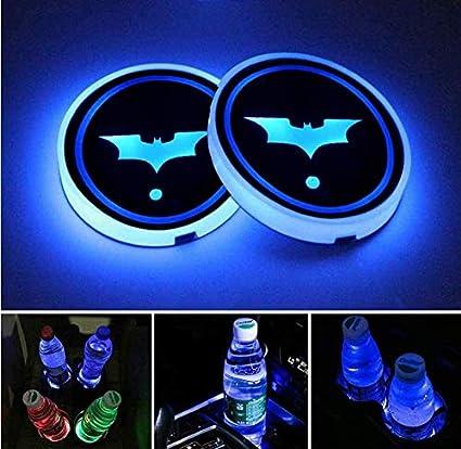 Batman Universal LED Car Cup Holder Lights
