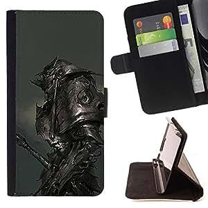 """For Sony Xperia Z5 Compact Z5 Mini (Not for Normal Z5),S-type Metal Armor Monster Hero Juego"""" - Dibujo PU billetera de cuero Funda Case Caso de la piel de la bolsa protectora"""