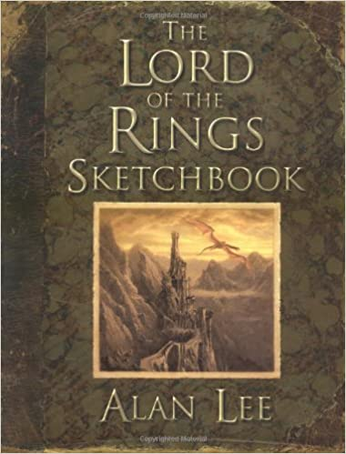 The Lord Of The Rings Sketchbook Alan Lee 9780618640140 Amazon